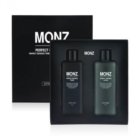 ESTHETIC HOUSE Monz Perfect Defence Set(toner&lotion) Мужской набор для лица(тонер и лосьон)