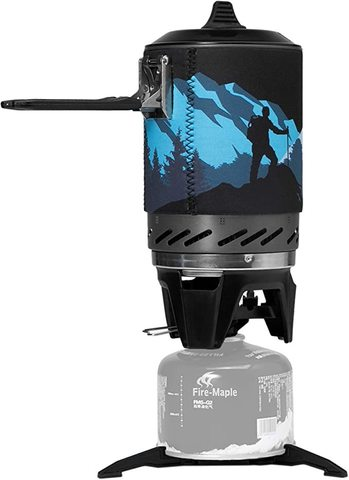 Картинка система приготовления Fire-Maple STAR FMS-X2 черная - 4