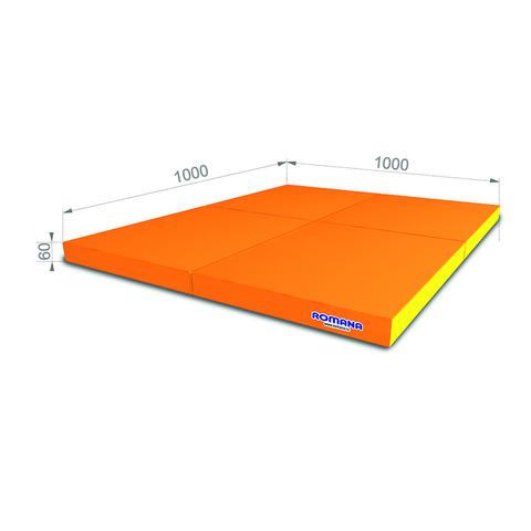 РОМАНА Мягкий щит (Мат) 1000*1000*60, в 4 сложения