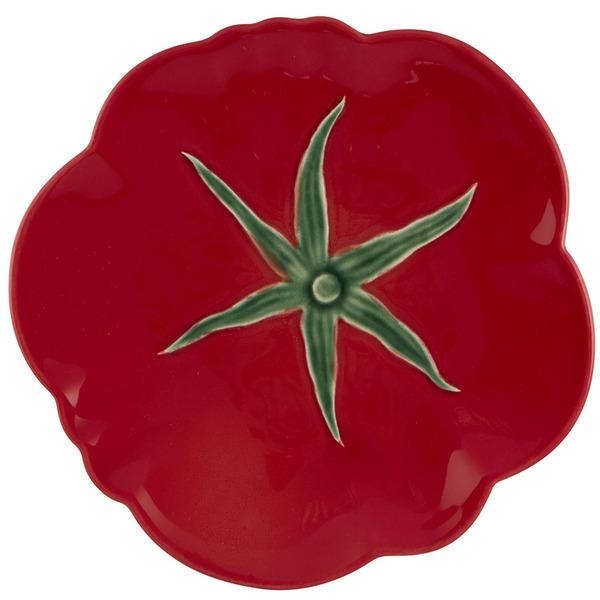 Тарелка закусочная Bordallo Pinheiro Томат 21см, керамика