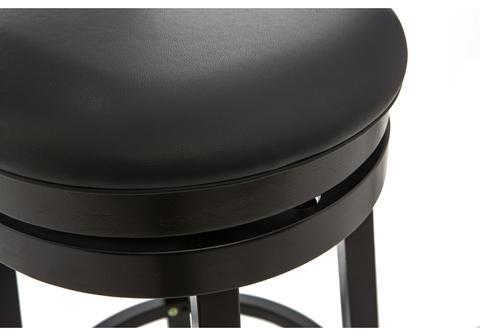 Барный стул Fler cappuccino / black 42*42*111 Венге /Черный