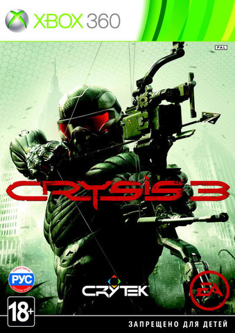 Crysis 3 (Xbox 360, английская версия)