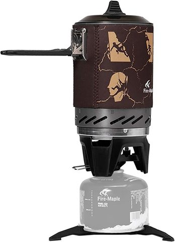 Картинка система приготовления Fire-Maple STAR FMS-X2 черная - 5