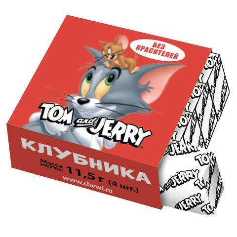Жевательные конфеты Tom and Jerry со вкусом клубники, 11,5 г