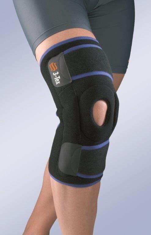 Окутывающий коленный бандаж с полицентрическими шарнирами 7120