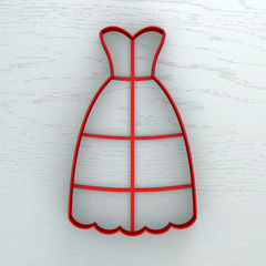 Платье без верха №2