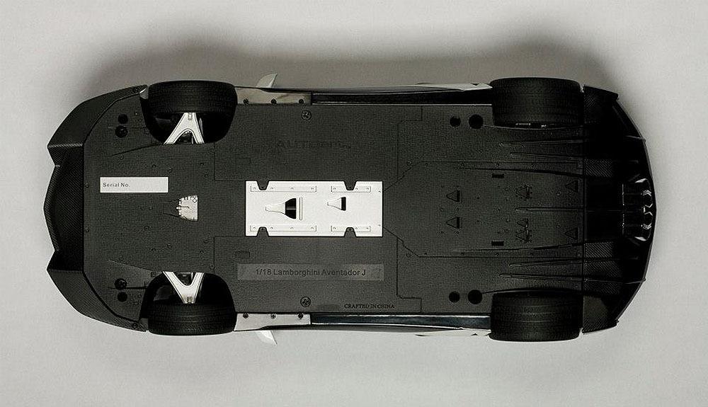 Коллекционная модель Lamborghini Aventador J 2012 White