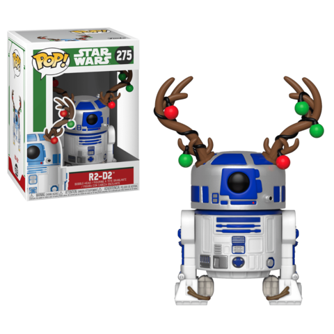 R2-D2. Star Wars Holiday Funko Pop! Vinyl Figure || Новогодний R2-D2