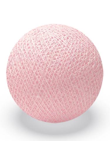 Хлопковый шарик нежно-розовый