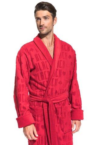 Мужской махровый халат Black Jack 937 красный PECHE MONNAIE   Россия