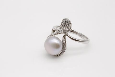 Кольцо из серебра с жемчугом SR1920-Rd