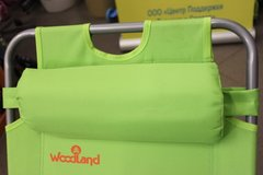 Кресло - шезлонг Woodland Lounger Oxford К-201 зел. 0049669