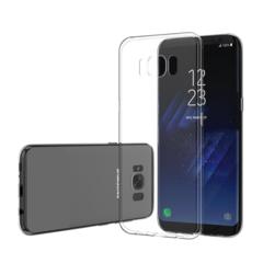 Силиконовый чехол для Samsung Galaxy S8 (Прозрачный)