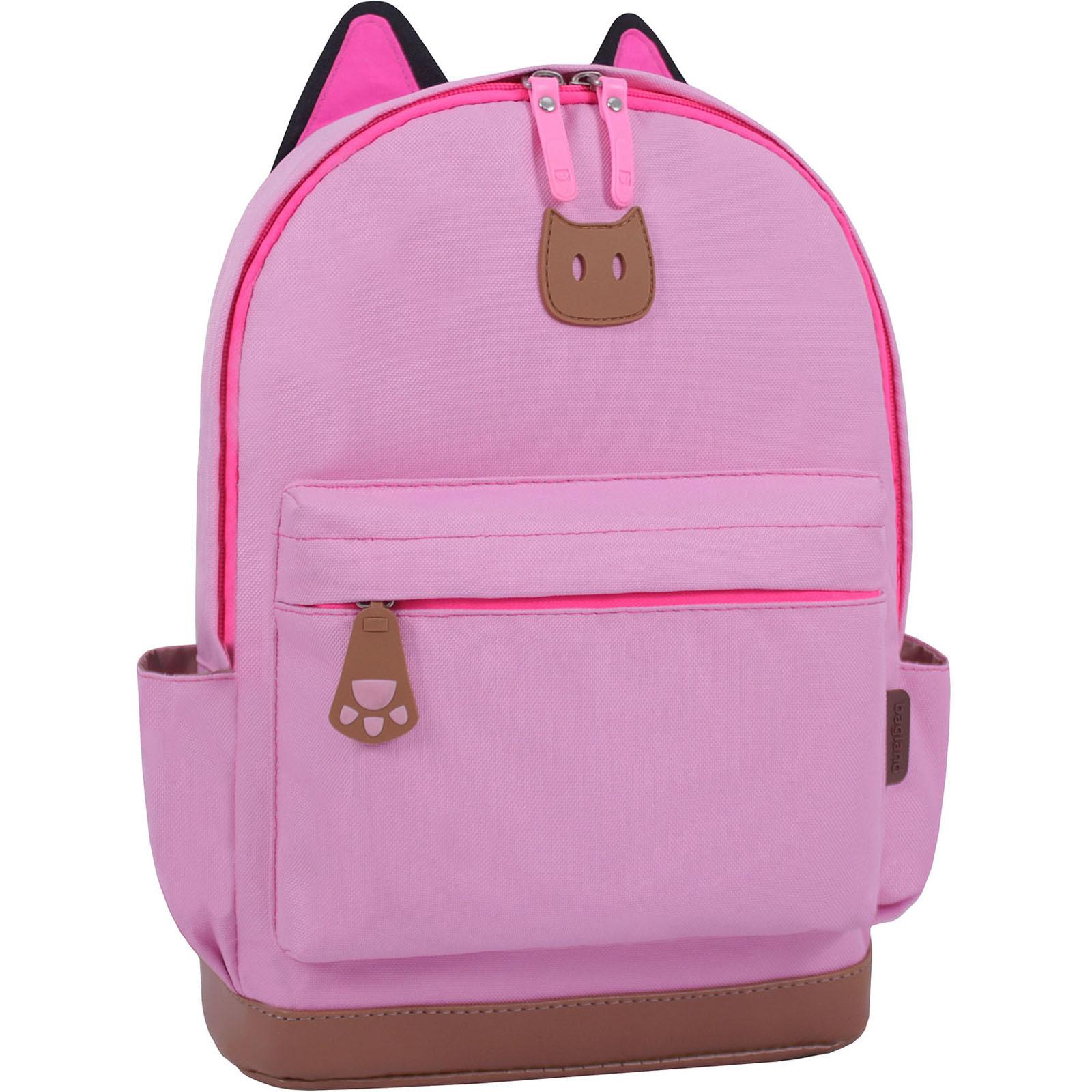 Рюкзак Bagland Ears розовый (0054566) фото 1