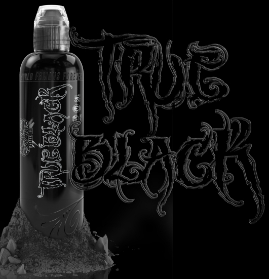 "Краска World Famous Tattoo Ink ""True Black"""
