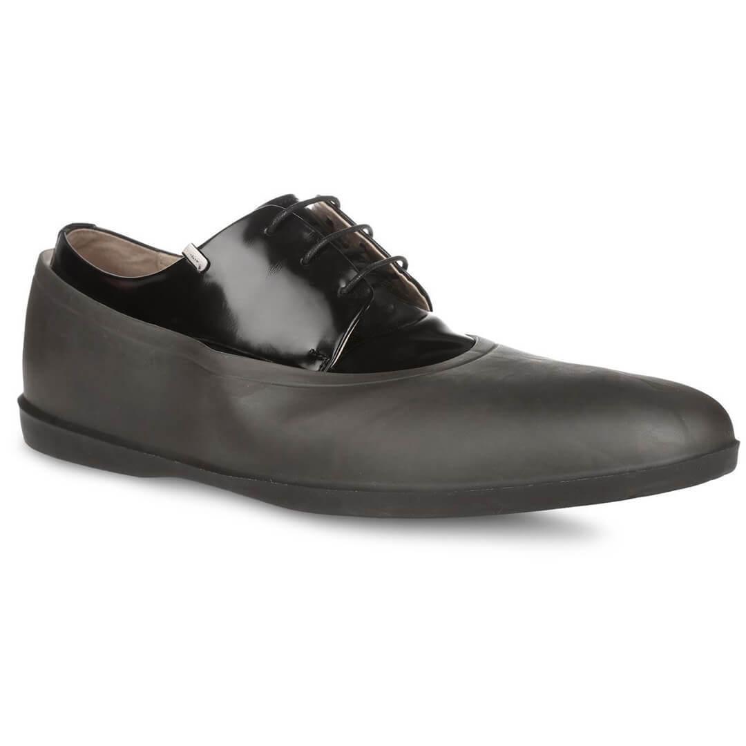 Галоши серые прозрачные Rain-Shoes