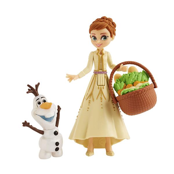 Hasbro Disney Princess E5509 ХОЛОДНОЕ СЕРДЦЕ 2 Игровой набор Кукла Анна и друг