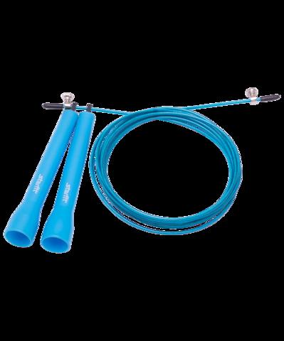 Скакалка RP-202 ПВХ, скоростная, синяя, 3 м