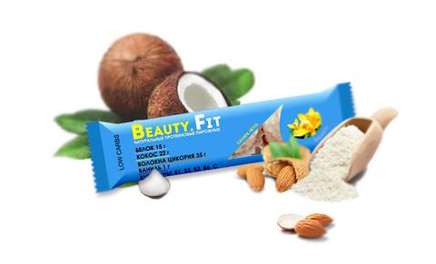 Кокосовые пирожные с протеином «Beauty.Fit», Ваниль, без сахара