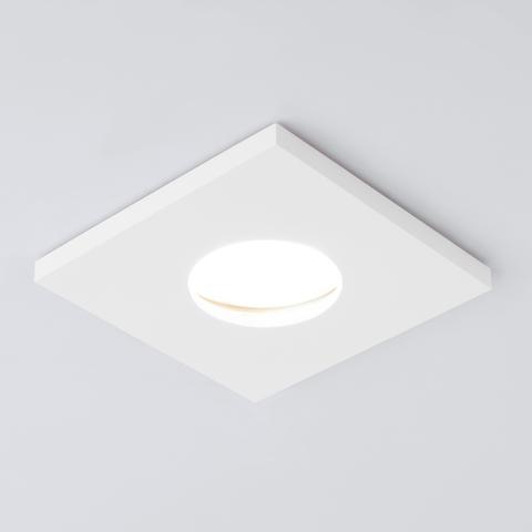Влагозащищенный точечный светильник 126 MR16 белый матовый