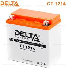 Аккумулятор DELTA 12V 14Ah (CT1214)