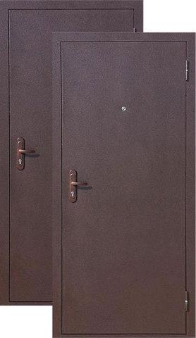 Дверь входная СтройГост Стройгост 5-1, 1 замок, 1 мм  металл, (медь+медь)