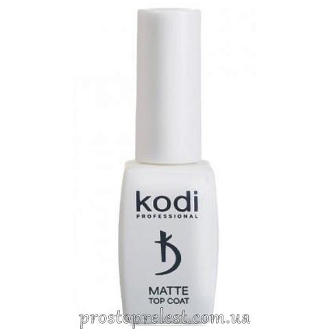 Kodi Professional Matte Top Coat Velour - Матовое финишное покрытие Велюр