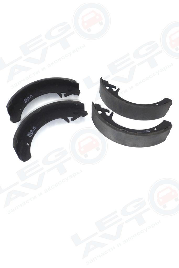 Колодки тормозные задние LECAR  без ABS