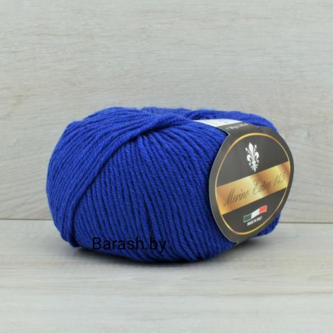 Пряжа Merino Extra 145 (Мерино экстра 145) Ярко-синий