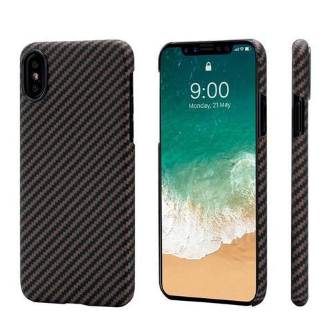 Чехол Pitaka MagCase (арамид) для Apple iPhone X (Black/Rose Gold Twill)