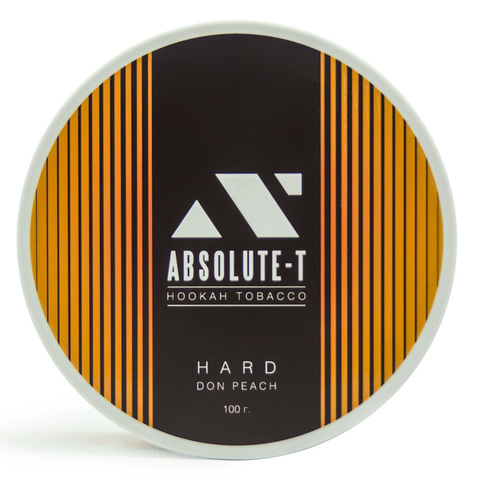 Табак Absolute-T Hard Don Peach (Персик) 100 г
