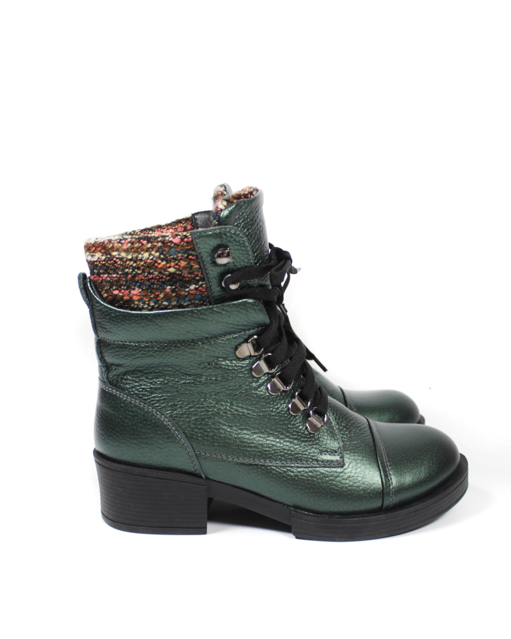 зеленые ботинки Clovis