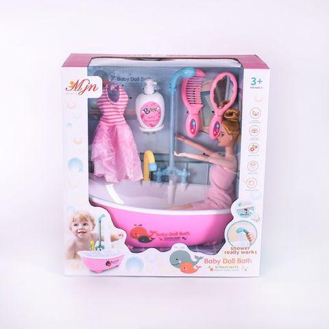 Кукла с ванной (вода)