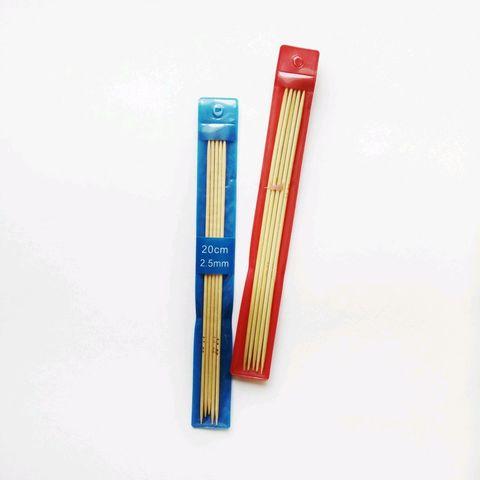 Бамбуковые носочные спицы 20 см
