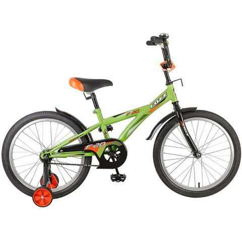 Детский велосипед FOXX F зеленый