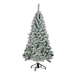 Ель Royal Christmas Flock Tree Promo 210 см заснеженная с подсветкой