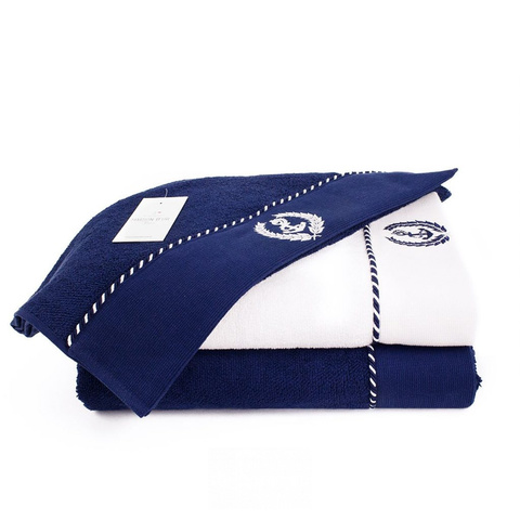 MICHEL SAILING - МИШЕЛЬ САЙЛИНГ белый полотенце махровое Maison Dor(Турция) .