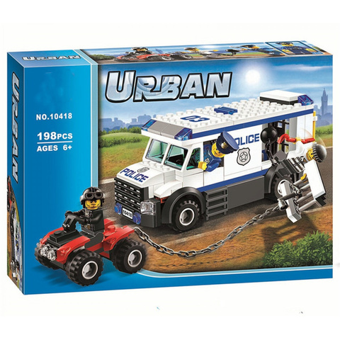 Конструктор Urban 10418 Автомобиль для перевозки заключенных
