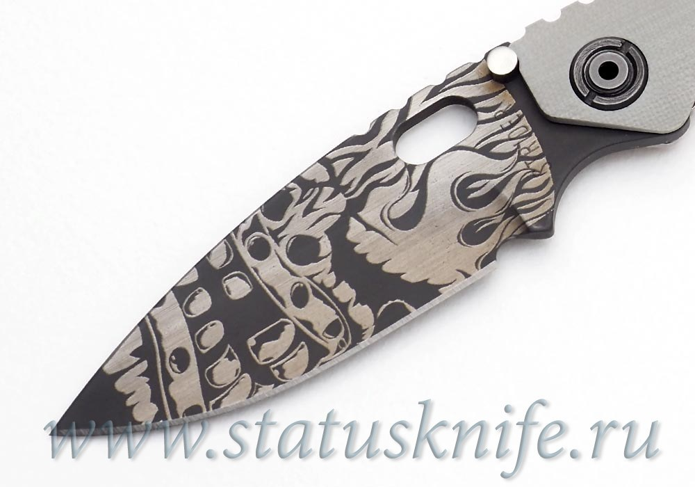"Нож Strider Starlingear Collab ""Tiki"" SnG limited - фотография"
