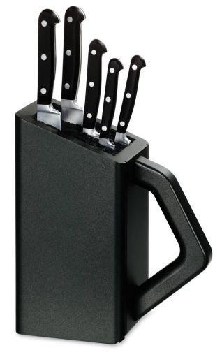 Набор Victorinox кухонный (5.1176.53) 5 ножей в универсальной подставке - Wenger-Victorinox.Ru