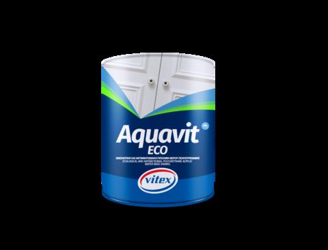 Aquavit Eco-Экологичная антимикробная акрил - полиуретановая эмалевая краска на водной основе