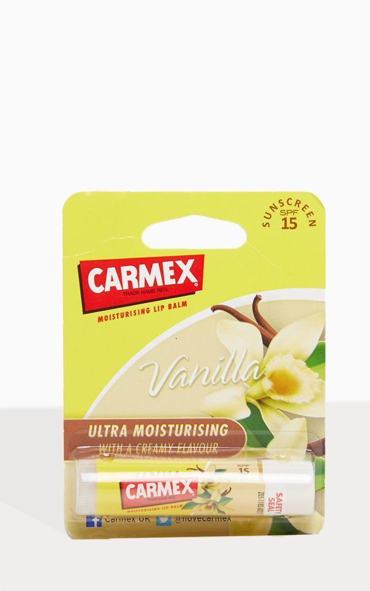 Бальзам для губ Carmex в стике Vanilla (Ваниль)