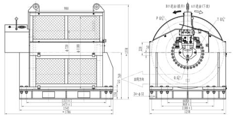 Компактная лебедка IYJ-32-260-40-ZPN