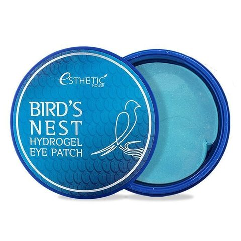 Esthetic House Патчи для глаз с ласточкиным гнездом BIRD`S NEST HYDROGEL EYE PATCH 60 шт