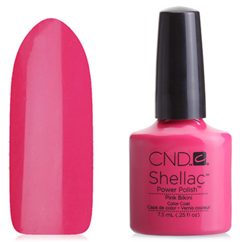 Гель лак CND Shellac Pink Bikini купить за 850руб