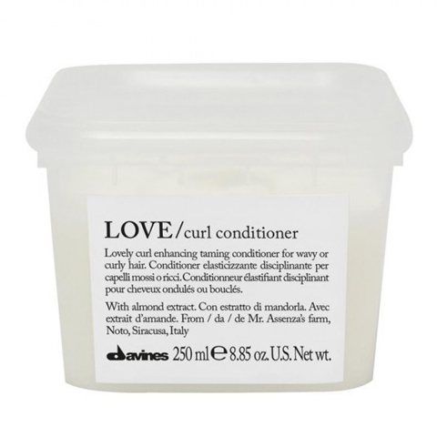 Davines Essential Haircare LOVE CURL: Кондиционер для усиления завитка (Love Curl Conditioner), 250мл/1л