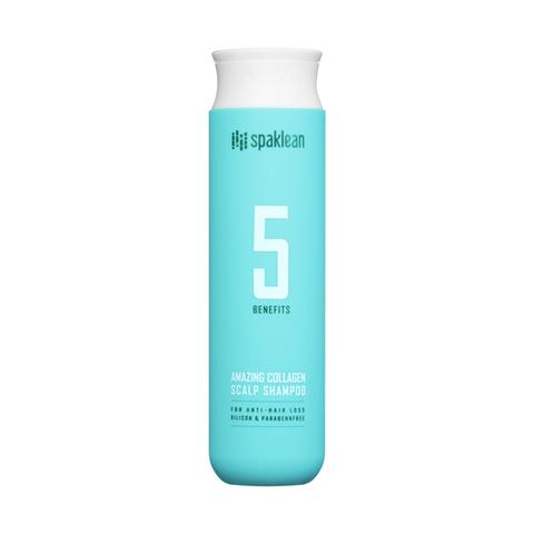 Spaklean Шампунь для кожи головы с коллагеном - Amazing collagen scalp shampoo, 300мл