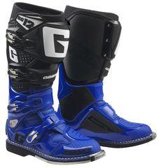 Кроссовые мотоботы Gaerne SG-12 черно-синие  Размер 46