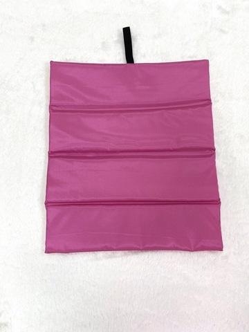 Коврик для ног с принтом (розовый)