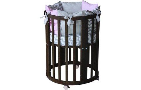 Кроватка детская Polini kids Simple 910, венге